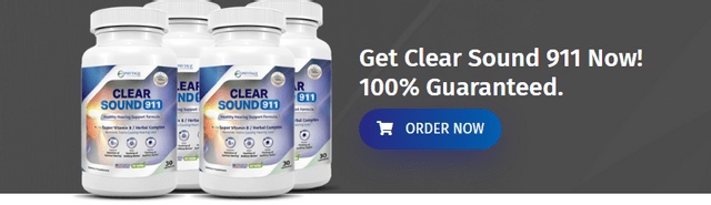 Clear Sound 911 Supplement – Read Real Customer Reviews, Price US, UK, CA,  AU & NZ